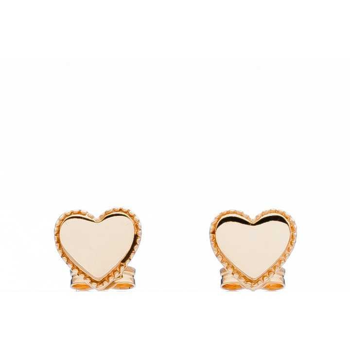 """Auksiniai auskarai """"Širdutė"""" - Auksiniai auskarai - Goldinga"""