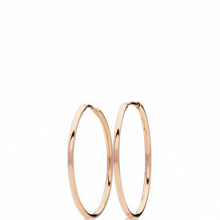 Auksiniai auskarai rinkutės 10mm - Auksiniai auskarai - Goldinga