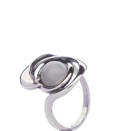 Sidabrinis žiedas 003115700440 - Sidabriniai žiedai - Goldinga
