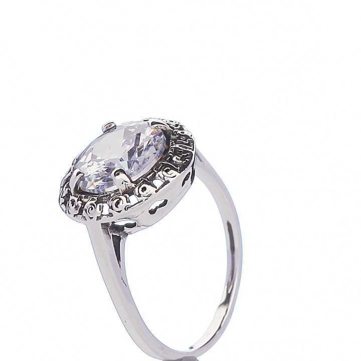 Sidabrinis žiedas 000320300420 - Sidabriniai žiedai - Goldinga
