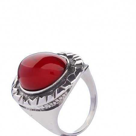 Sidabrinis žiedas 000306100650 - Sidabriniai žiedai - Goldinga