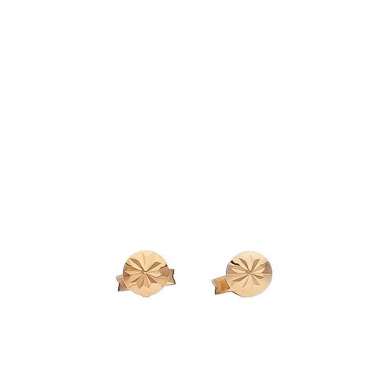 Auksiniai auskarai 4mm - Auksiniai auskarai - Goldinga