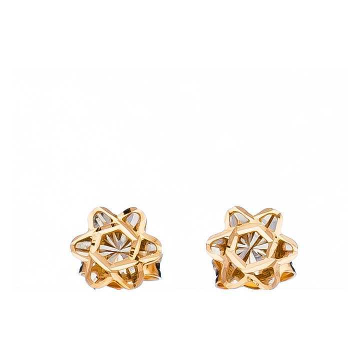 """Auksiniai auskarai """"Gėlytė"""" - Auksiniai auskarai - Goldinga"""