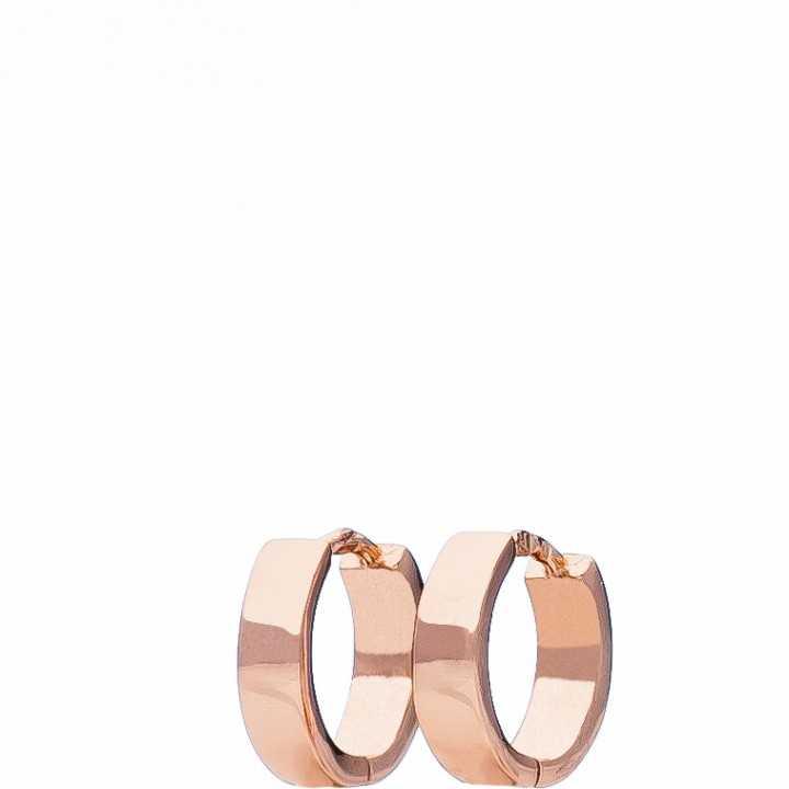 Paauksuoti sidabriniai auskarai rinkutės 11mm - Sidabriniai auskarai - Goldinga