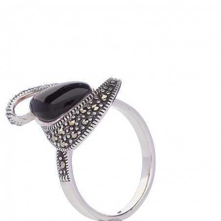 Sidabrinis žiedas 000356200540 - Sidabriniai žiedai - Goldinga