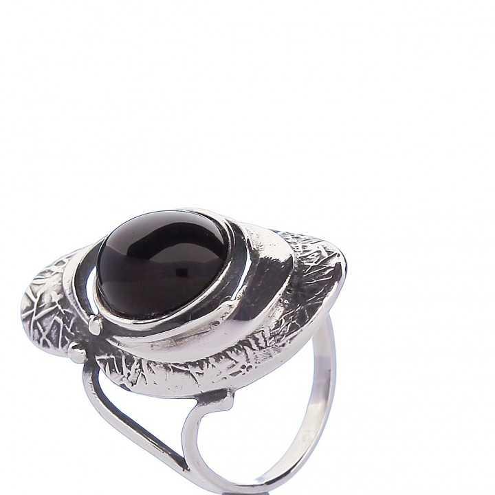 Sidabrinis žiedas 000355400540 - Sidabriniai žiedai - Goldinga