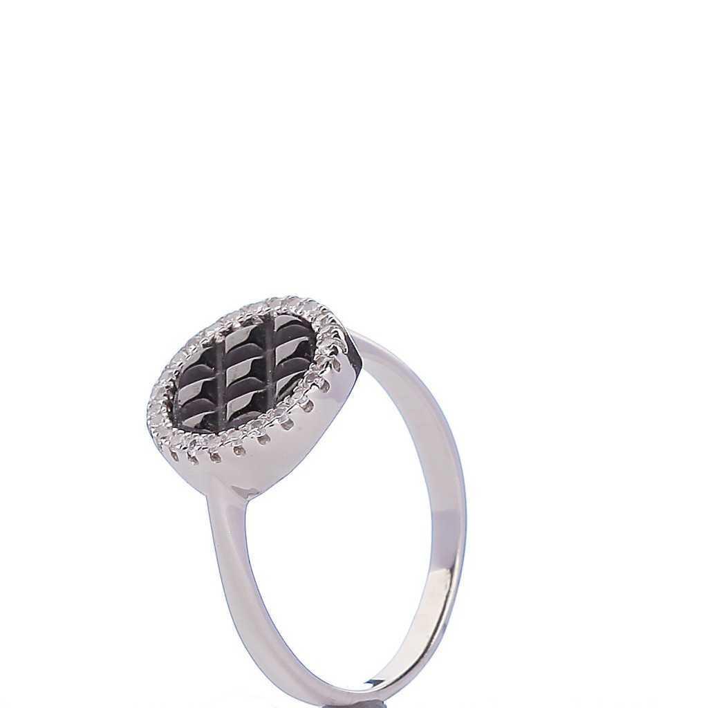 Sidabrinis žiedas 000364200340 - Sidabriniai žiedai - Goldinga