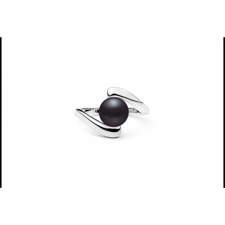 Sidabrinis žiedas su perlu - Sidabriniai žiedai - Goldinga