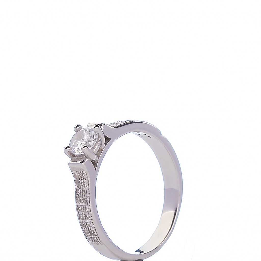 Sidabrinis žiedas 001211200310 - Sidabriniai žiedai - Goldinga