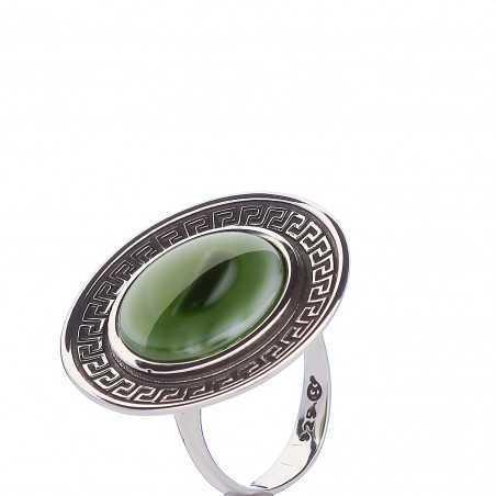 Sidabrinis žiedas su Jaspiu - Sidabriniai žiedai - Goldinga