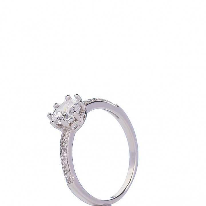 Sidabrinis žiedas 004873800230 - Sidabriniai žiedai - Goldinga