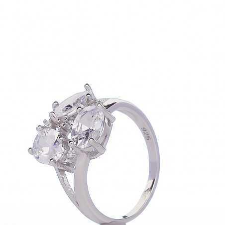 Sidabrinis žiedas 00102 - Sidabriniai žiedai - Goldinga