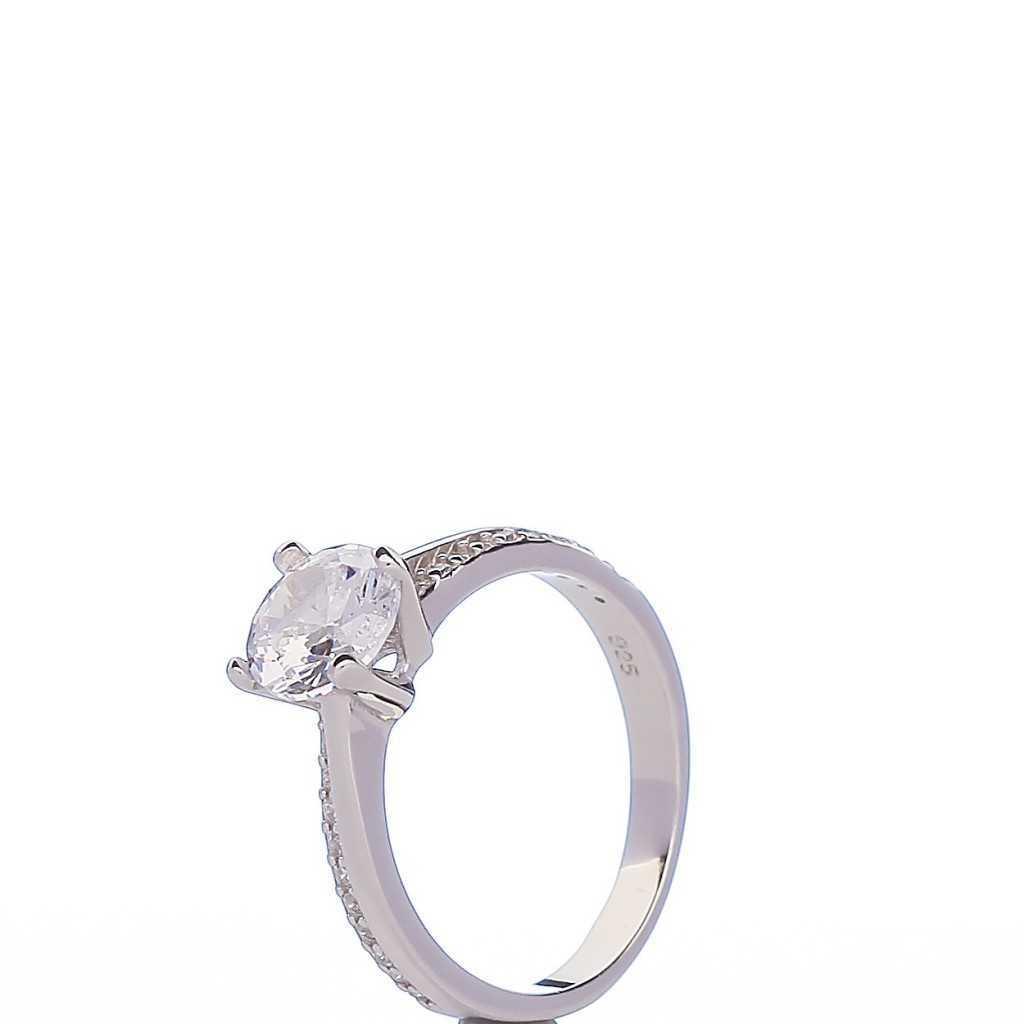 Sidabrinis žiedas 00100 - Sidabriniai žiedai - Goldinga