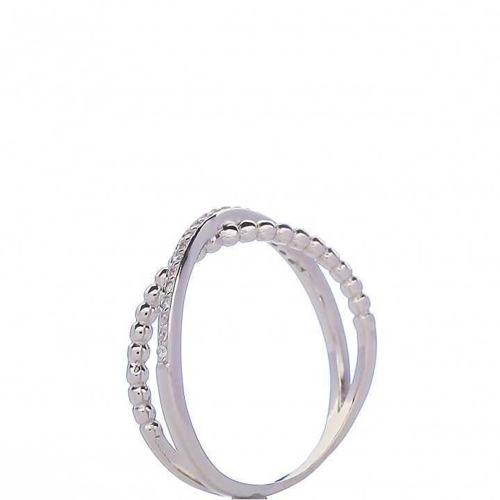 Sidabrinis žiedas 00087 - Sidabriniai žiedai - Goldinga