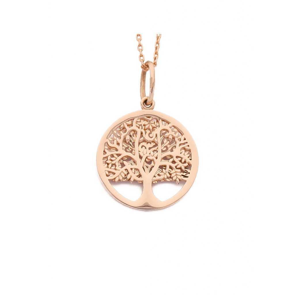 """Auksinis pakabukas """"Gyvybės medis"""" - Auksiniai pakabukai - Goldinga"""