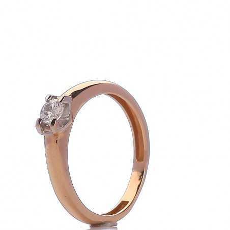 Auksinis žiedas 00525 - Auksiniai žiedai - Goldinga