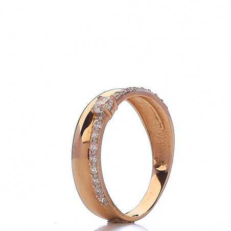 Auksinis žiedas 00511 - Auksiniai žiedai - Goldinga