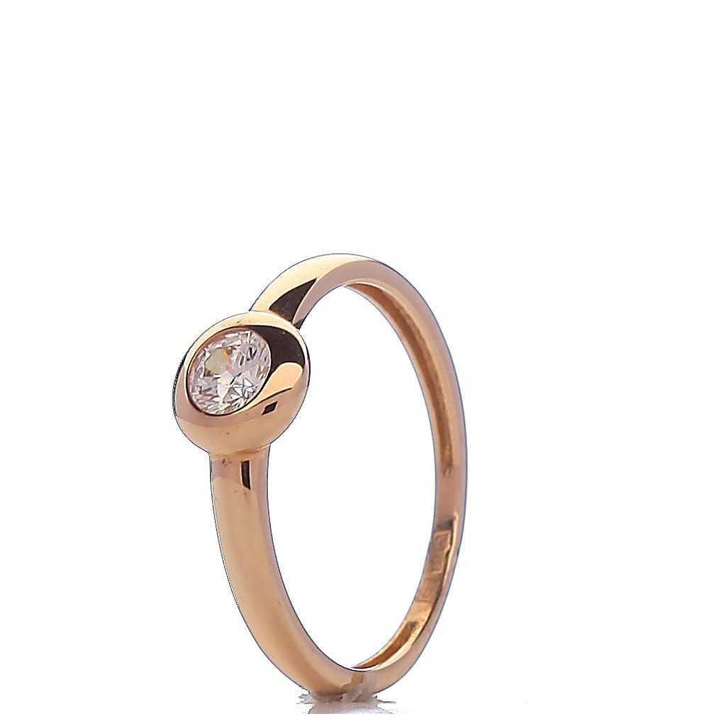 Auksinis žiedas 00501B - Auksiniai žiedai - Goldinga