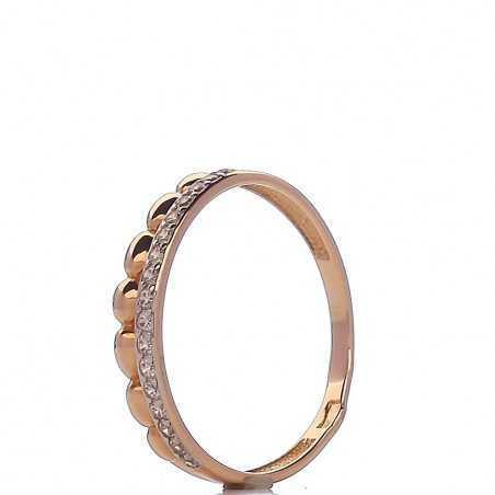 Auksinis žiedas 003739400159 - Auksiniai žiedai - Goldinga